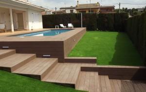 Construcción piscinas Sitges